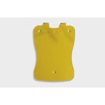 Staffa di supporto gialla per defibrillatore